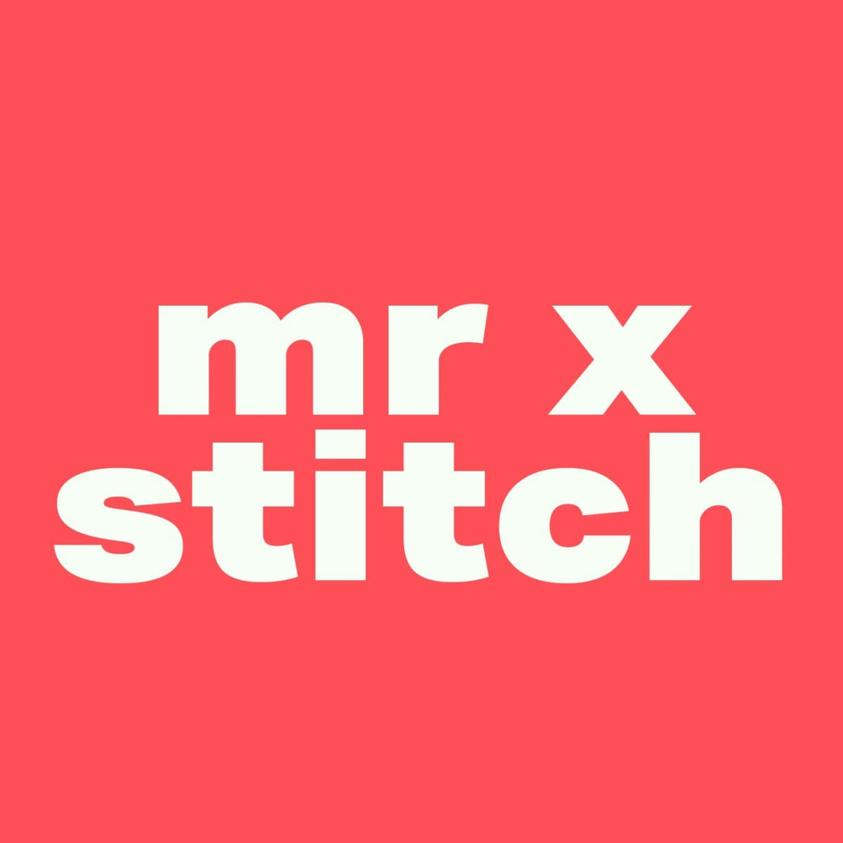 Mr X Stitch | Changing the way the world thinks about embroidery