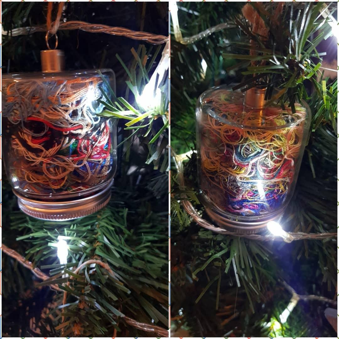 Christmas ORT Jar by LindseyJake