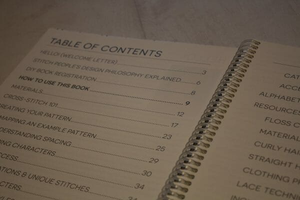 Stitch People by Lizzy Dabczynski-Bean - Table Of Contents