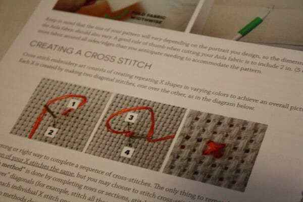Do It Yourself Stitch People Instructions