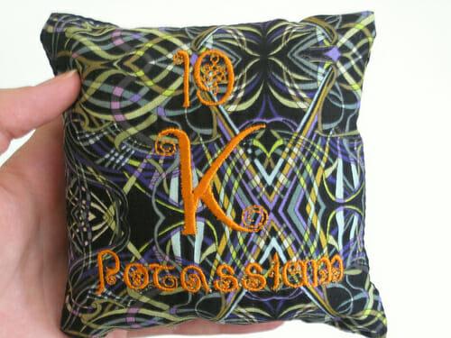 Alyse Anderson - Potassium Elements Pillow