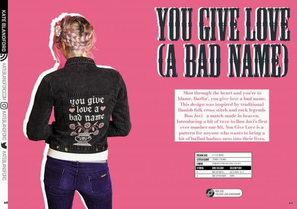 Kate Blandford's design for XStitch Magazine Issue 7