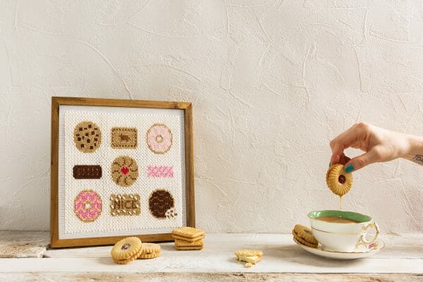 The Makers' Marks biscuit design for XStitch Magazine Issue 8
