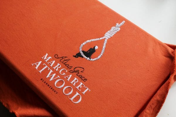 Margaret Atwood book cover by Chloe Giordano