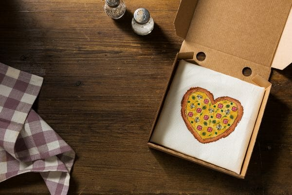 Sweet Annet's Pizza design for XStitch Magazine Issue 8