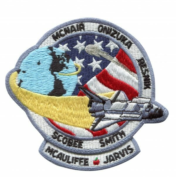 NASA Challenger Shuttle (STS 51-L) Mission Patch