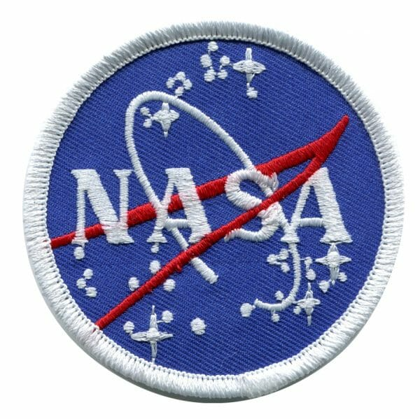 NASA Mission Patches featuring their Logo aka The Meatball