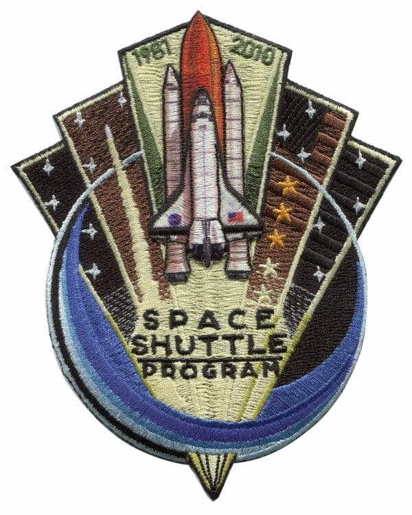 NASA Space Shuttle Commemorative Patch