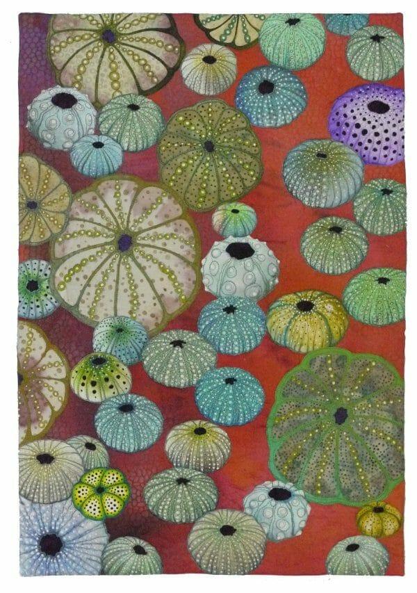 Betty Busby - Urchin - Art Quilt