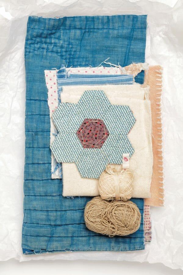 Hannah Lamb Samples Poetic Cloth Comforting Materials