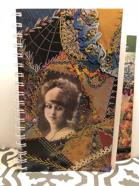 Judith Baker Montano's Essential Stitch Guide - Crazy Quilt Example