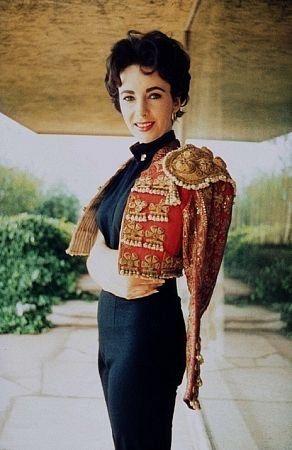 Elizabeth Taylor in a Matador Chaquetilla