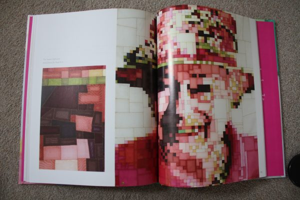 We loved this pixel view of this ahem, well known person!