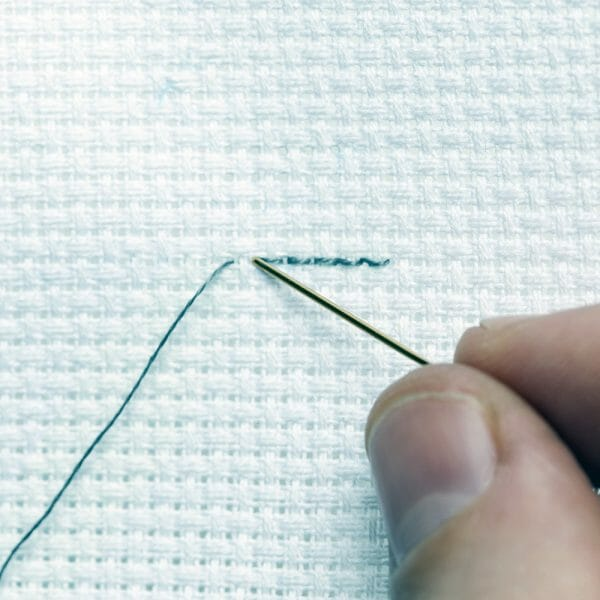 Back Stitches - photo credit Stacy Grant