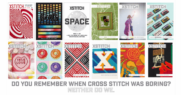 The Twelve Covers of XStitch Magazine