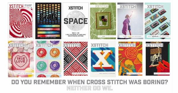 The Twelve Covers of XStitch Magazine