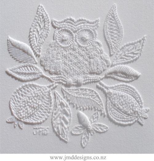 Mountmellick Owl by Janet Davies of JMD designs