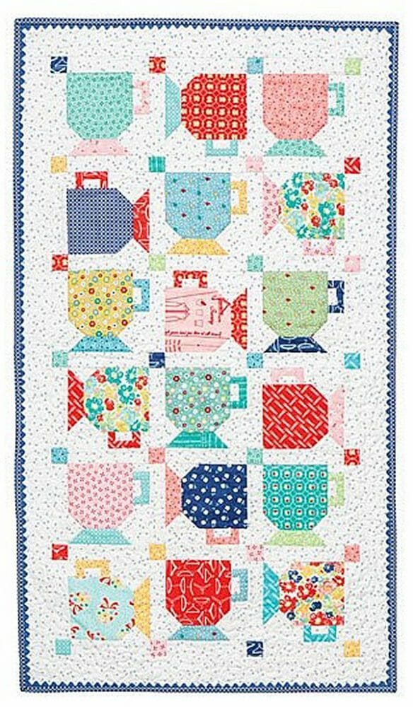 Good Morning Mugs Table Runner Kit