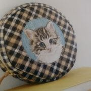 Too Cute Tuesday – Embroidery Cat!