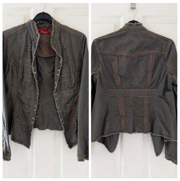 Quick jacket upcycle