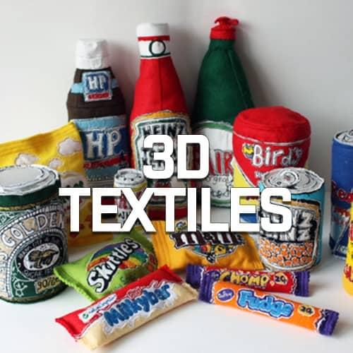3D Textiles   Mr X Stitch