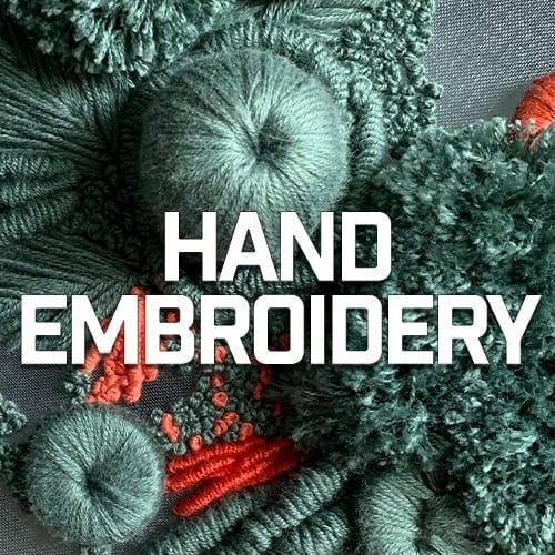 Hand Embroidery   Mr X Stitch