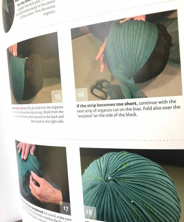 fabric covered hat instructions