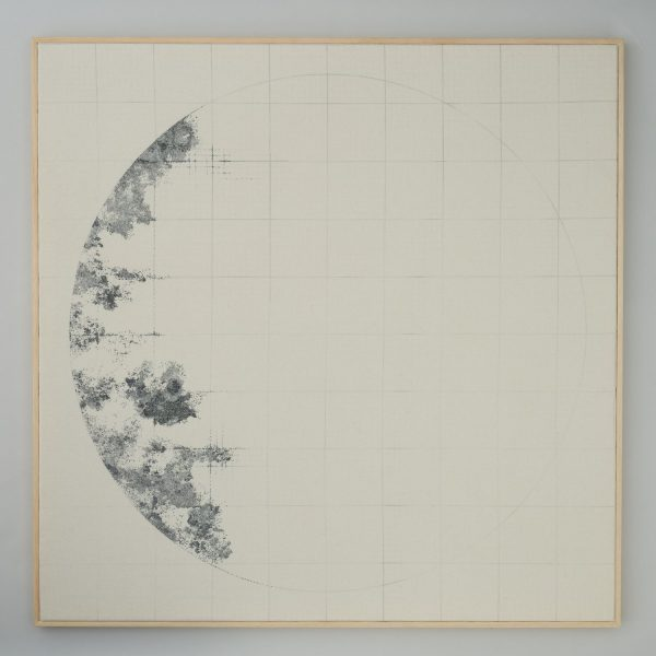 Richard McVetis - Phase 1 Hand embroidery on wool 100 x 100cm 2019