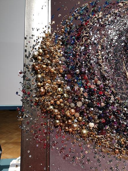 Andromeda beadwork detail 2 by Samantha Trevis