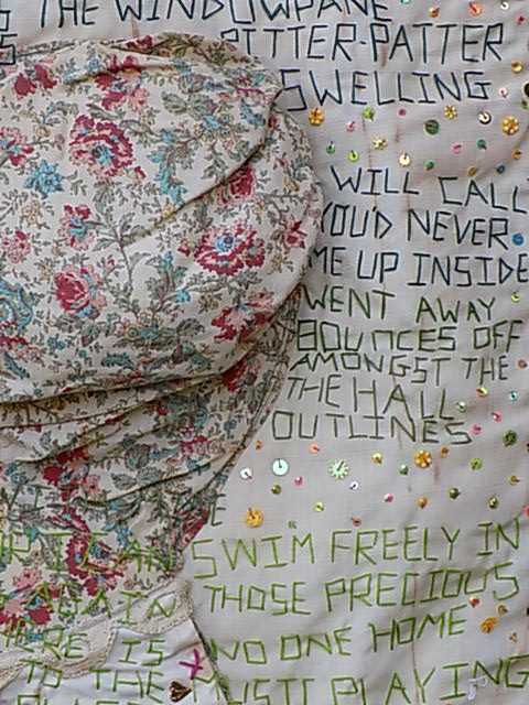 Language in Textile Art: Expressing Loss