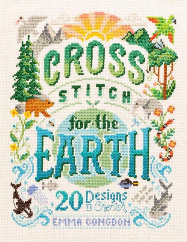 cross stitch for the earth Emma Congdon
