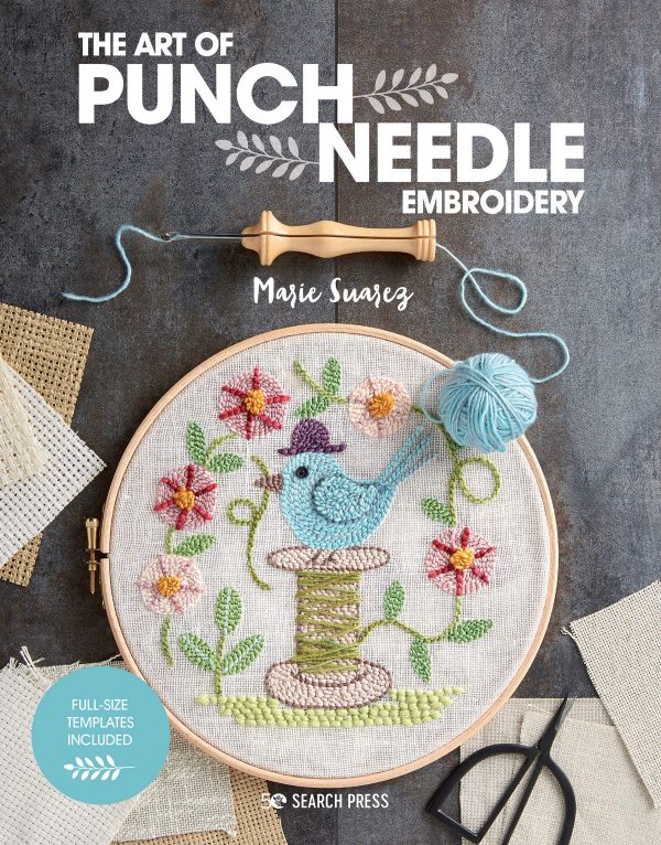 Art of Punch Needle Embroidery Marie Suarez