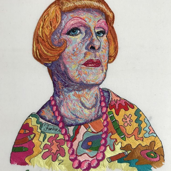Grayson Perry as Clair, by Sorrell Kerrison