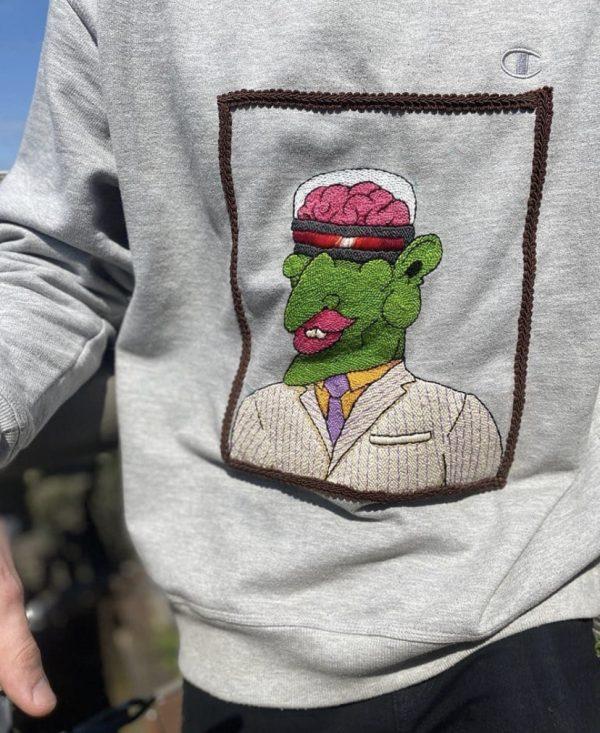 StitchedLime - Cyborg Sweater