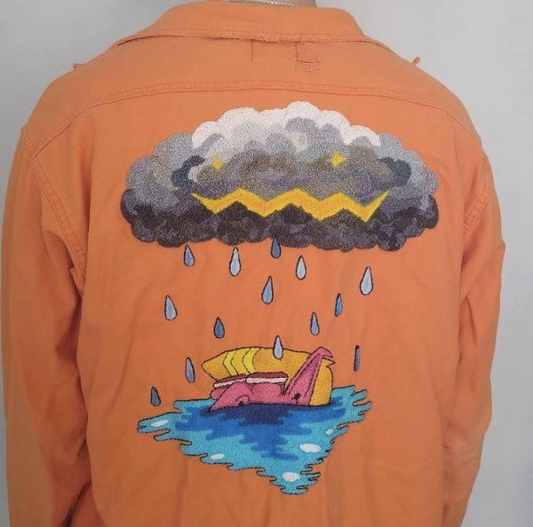 StitchedLime - Storm Jacket