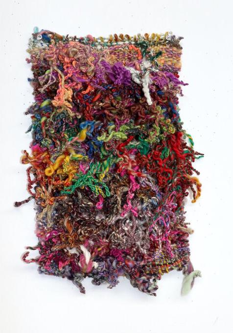 Bryana Bibbs - Journal Series 1.28.21 - Handwoven hand-spun wool and hemp