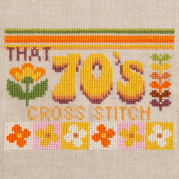FiddlesticksAU - That 70s Cross Stitch from Issue 15: The 70s