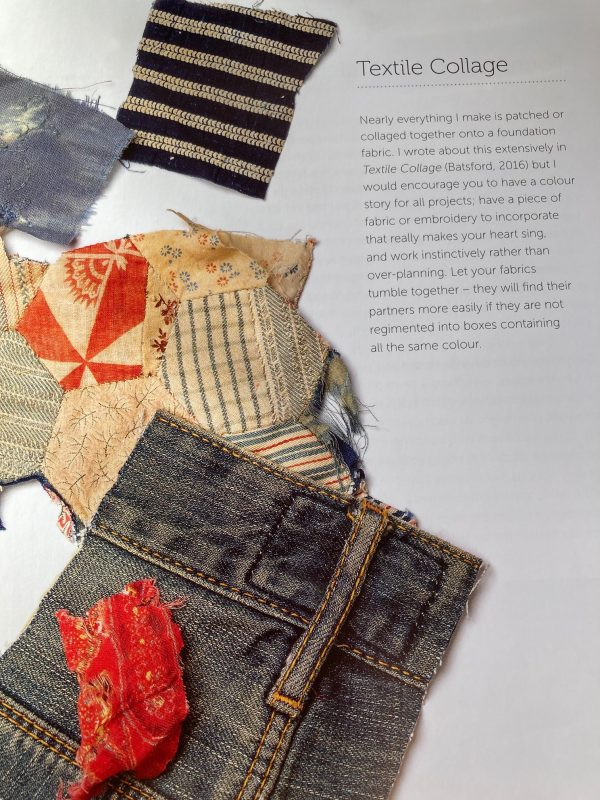 Mandy Pattullo Textiles transformed patchwork