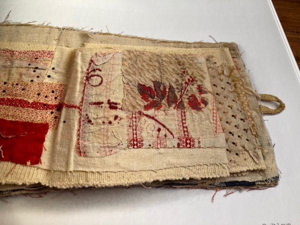 Mandy Pattullo Textiles transformed textile sketchbook