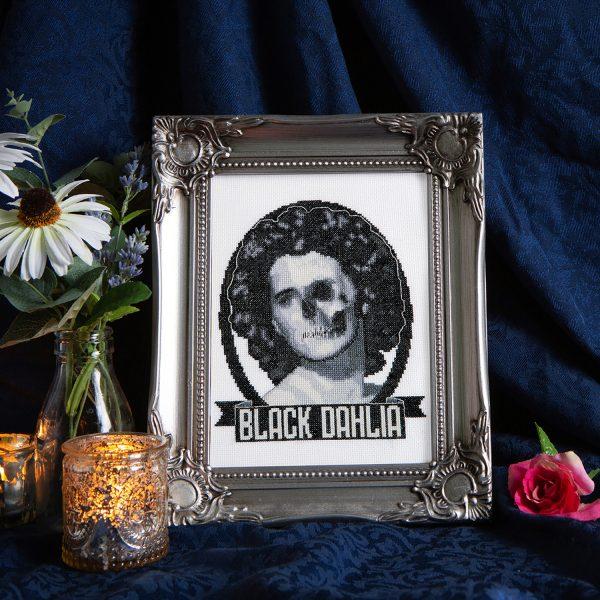 Marina Bolmini - Black Dahlia from Issue 12: Noir
