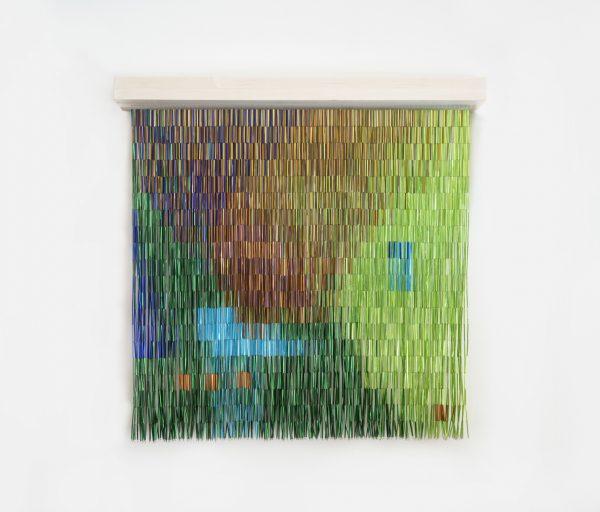 Na Chainkua Reindorf - Fall (2019) - Glass beads, nylon thread, cotton yarn
