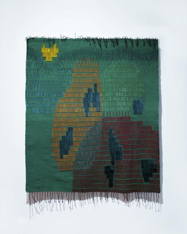 Na Chainkua Reindorf - Scape (2019) - Glass beads, nylon thread, cotton yarn