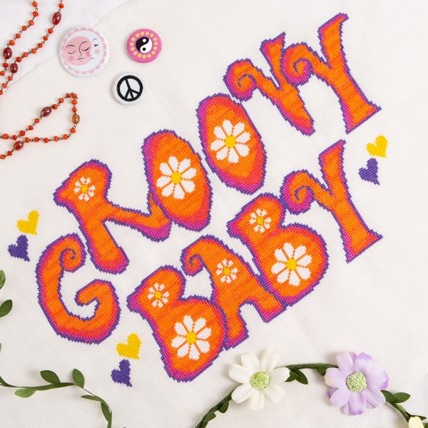 Romy's Creations - Groovy Baby from Issue 15: The 70s