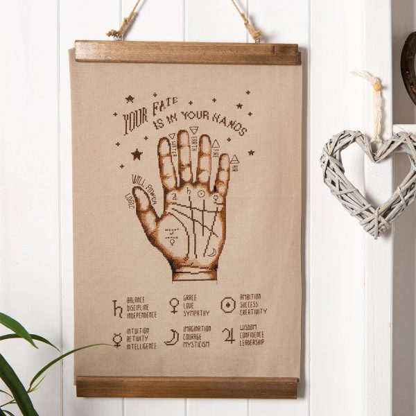 SmartCrossStitch - Palmistry from Issue 13: Fortune