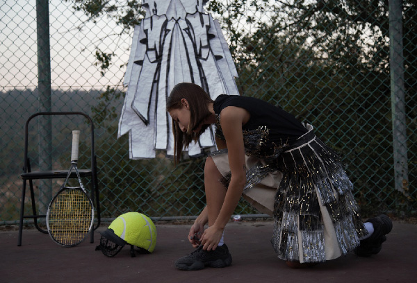 Tennis outfit, by Rotem Izhaki