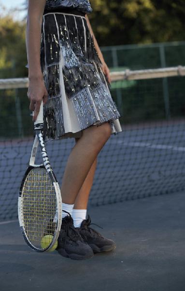 Tennis skirt, Rotem Izhaki