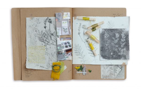 Claire Smith Resilient Stitch sketchbook