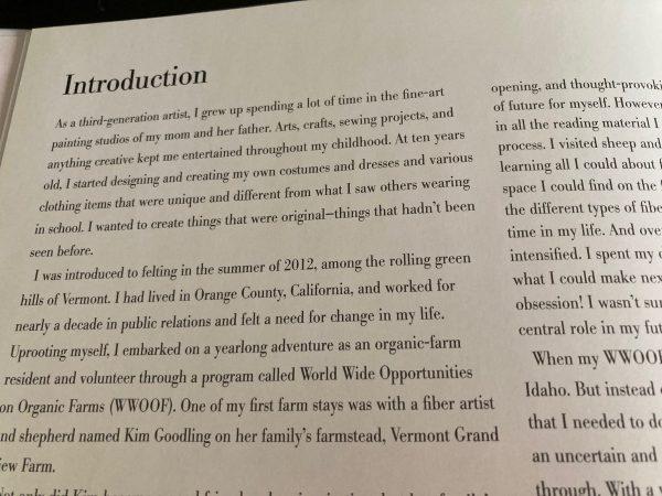 Jenny Hill Artisan Felting Wearable Art Introduction