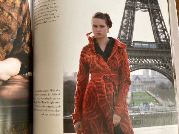 Jenny Hill Paris felt fashion shoot