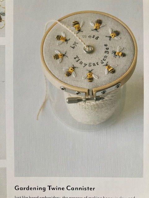 Garden Stitch Life bees